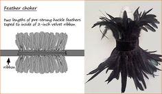 How to make a Feather choker