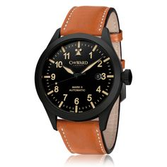 e48686ae432 Pilot Mk II Vintage Edition Automatic Watch with Brown Leather Strap