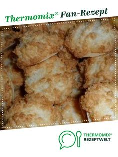 Kokosmakronen Coconut macaroons from Foodtastic. A Thermomix ® recipe from the category baking sweet www.de, the Thermomix ® community. Paleo Donut, Keto Donuts, Baked Donuts, Donut Recipes, Baking Recipes, Paleo Recipes, Chocolate Donuts, Chocolate Recipes, Rhubarb Muffins