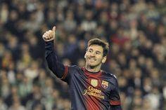Messi es inigualable: con dos tantos ante Betis, superó a Müller