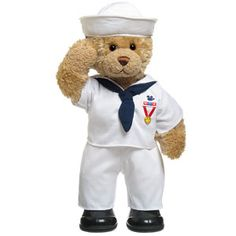 Future present to my sailor. Found at Build A Bear.