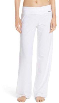 e7256fbdd67 Wide Leg Stretch Cotton Pajama Pants  cut pants knit Yoga Wear