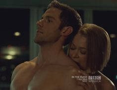 Dylan Bruce (with Tatiana Maslany) from Season 2 Episode 5 of Orphan Black