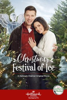 """Its a Wonderful Movie - Your Guide to Family and Christmas Movies on TV: Christmas Festival of Ice - a Hallmark Channel Original """"Countdown to Christmas"""" Movie starring Taylor Cole and Damon Runyan! Hallmark Channel, Films Hallmark, Streaming Hd, Streaming Movies, Hd Movies, Movies To Watch, Movie Tv, 2017 Movies, Film Watch"""