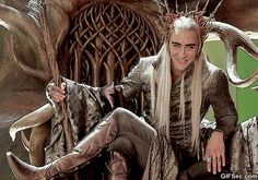 how can someone so sexy play someone sooo asexual as Thranduil? :-))))