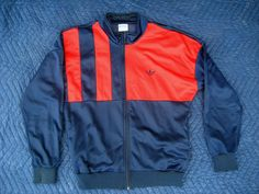 Vintage ADIDAS TRIFOIL Tennis Track Jacket