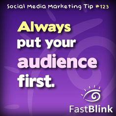 Social Media Marketing Tip #123