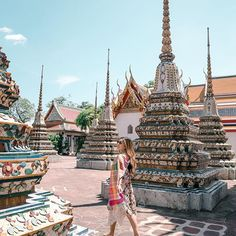 If visiting Bangkok skip Grand Palace and visit the temple next door, Wat Pho! It was way more enjoyable with less crowds. Happy Friday everyone! #TDLThailand http://liketk.it/2sJbp #liketkit @liketoknow.it #bangkok #thailand #thailandinstagram #thailandinsider #watpho