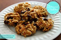 21 Day Fix: Oatmeal Cookies with Chocolate Chips and Pecans