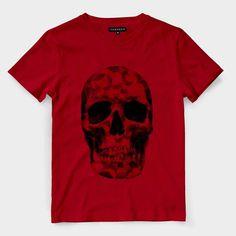 ae7851bbf 19 melhores imagens de Camiseta Caveira e Barba
