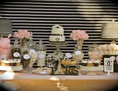 "Coco Chanel/Parisian / Birthday ""35th Birthday Celebration"" | Catch My Party"