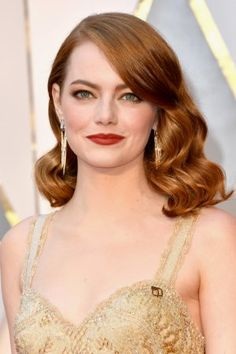 Emma Stone's Oscars 2017 Hair and Makeup | Pret-a-Reporter