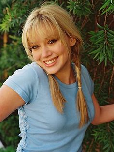 Back in her Lizzie McGuire days. Wow, Hilary Duff has changed so much.