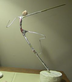 Madsculptor: SATYR  wonderful armature..movement in pose