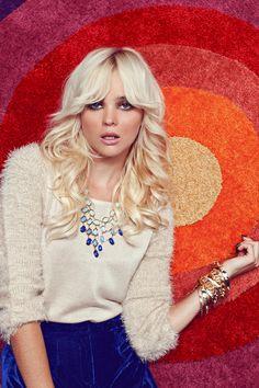 Lulu's Fall 2012 Campaign - Fotografía de Julia Galdo