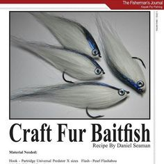 For those interested in how I tie my craft fur bait fish the tutorial is now live via @thefishermansjournal magazine. See pages 77-83 Link in my profile. Be sure to follow for more tutorials and great reading material. #flytying #flyfishing #bugwild #thefishermansjournal #saltwaterflyfishing #partridgehooks #deercreekresin #baitfish by bug.wild