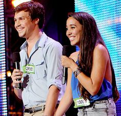 Alex and Sierra xx cutest couple and awesome group I'm watching them right now!!!!!!!  And they sang GREASE @Kathryn Whiteside Marie