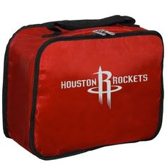 NBA Houston Rockets Lunchbreak Lunchbox by Concept 1. $8.86. The lunchbreak is a cool and handy lunchbox for school or work that shows your favorite basketball team's logo.