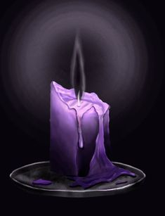 Black Flame Candle by bradlyvancamp.deviantart.com on @DeviantArt