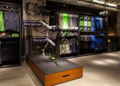 Sports Store | Retail Design | Shop Interior | Sports Display | NIKE, Inc. - Nike Georgetown opens in Washington, DC: