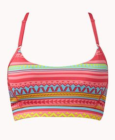 Tribal Print Sports Bra....looks like the straps are not wide enough for me but this is really cute!