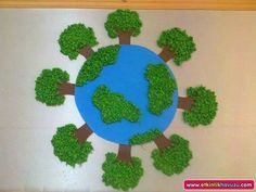 Earth Craft, Earth Day Crafts, Earth Day Projects, Projects To Try, Diy And Crafts, Crafts For Kids, Multiplication Games, Ideias Diy, Fruit Of The Spirit