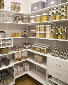 Image detail for -finished look to cabinets pantry organization bronze slide out can ...