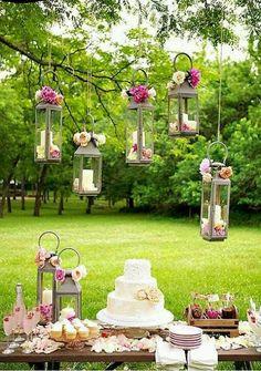 Garden wedding...what this girl dreams of.