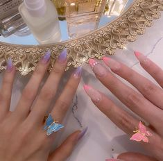 How to choose your fake nails? - My Nails Aycrlic Nails, Swag Nails, Manicures, Cute Nails, Glitter Nails, Grunge Nails, Stiletto Nails, Wedding Nails For Bride, Bride Nails