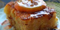Πορτοκαλόπιτα με κανταΐφι Greek Sweets, Greek Desserts, Greek Recipes, Pastry Recipes, Cookie Recipes, Dessert Recipes, Portokalopita Recipe, Greek Cake, Delish Cakes