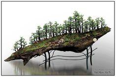 Wonderful bonsai… on a hillside