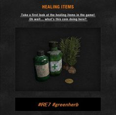 Resident Evil 7 Reveals First Look at Returning Green Herbs