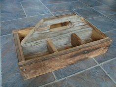 Tool Tote from old Barn boards