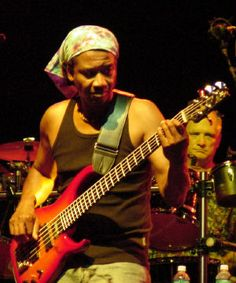 Alphonso Johnson, American bass player