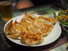 新雪園 深夜の餃子 おろし生姜酢で…