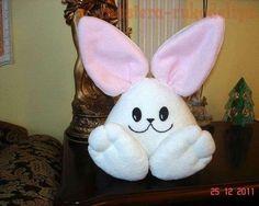 DIY Simple Fabric Bunny