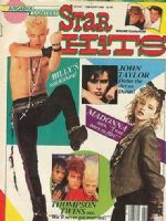 "Star Hits magazine.  This was my favorite magazine when I was a teenager, and it was also the site of my first real publication.  I wrote record reviews.  I was even on the masthead once, as a ""contributing writer."""