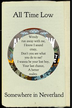All Time Low - Somewhere in Neverland #ATL