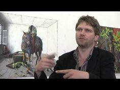 Der Berliner Künstler Jonas Burgert - Shooting Star mit Tiefgang - YouTube