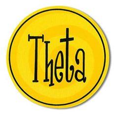 "Kappa Alpha Theta Bumper Stickers 4"" Round"