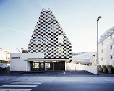 BTV branch in Innsbruck / Rainer Köberl