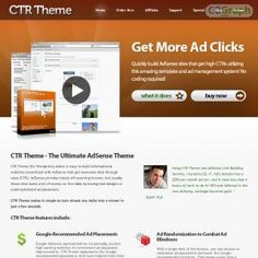 CTR Theme Is A Wordpress Theme That Automatically Uses Google-recommended Ad Placements And Auto-blends Ads For Crazy High Ctrs. See more! : http://get-now.natantoday.com/lp.php?target=ctrtheme