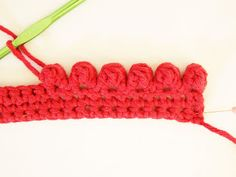 Heidi Bears: Crocheted Bobble Edging Tutorial