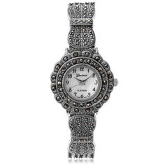 Shop for Geneva Women's Marcasite Antique Inspired Watch. Ships To Canada at Overstock.ca - Your Online Watches Shop!  - 10786918
