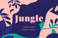 Cutted Paper Pattern Series is an art pattern inspired by the jungle flora. This pattern imitates cut paper collage. It is created to use for branding projects and many kinds of design Vector Pattern, Pattern Art, Pattern Paper, Pattern Design, Paper Patterns, Free Pattern, Jungle Pattern, Massimo Vignelli, Ms Project