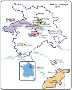 Champagne and its villages