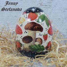 Decoupage by Jenny Stefanova Snow Globes, Decoupage, Eggs, Home Decor, Decoration Home, Room Decor, Egg, Home Interior Design, Egg As Food