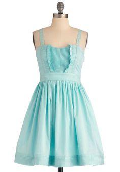 cute robin egg blue dress
