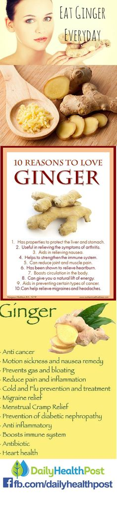 For thousands of years, all over the world, ginger has been used to help digestive health and treat pain. Moreover, modern studies continue to prove its real-life benefits and legitimize its use.     Whether it be taken dried, fresh or juiced, theres no