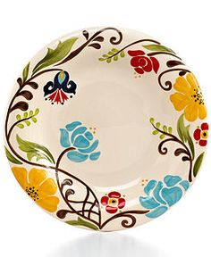 Vida by Espana Dinnerware, Jardine Collection - Casual Dinnerware - Dining & Entertaining - Macy's